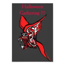 Recolectar-Invitación de Halloween Invitación 8,9 X 12,7 Cm