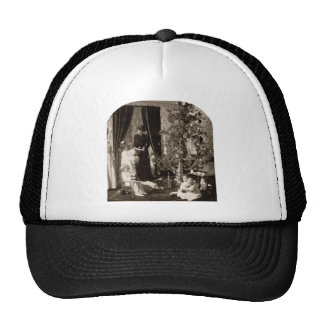 Recolecte 'alrededor del árbol - vintage Stereovie Gorra