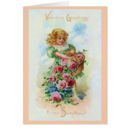 Recolecte el color de rosa de la tarjeta del día d