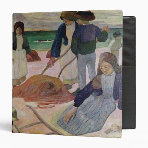 """Recolectores de la alga marina, 1889 carpeta 1 1/2"""""""