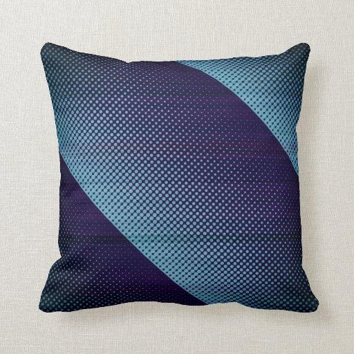 Recoleta Blue Dots Throw Pillows