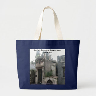 Recoleta Cemetery, Buenos Aires, Argentina Large Tote Bag