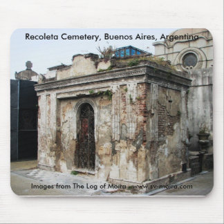 Recoleta Cemetery, Buenos Aires, Argentina Mouse Pad