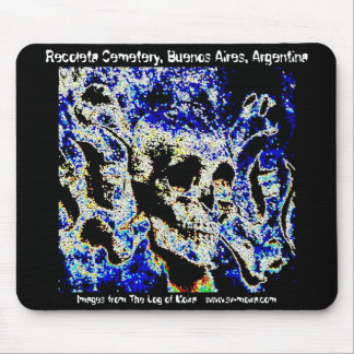 Recoleta Cemetery, Buenos Aires (Solarized) Mouse Pad
