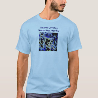 Recoleta Cemetery, Buenos Aires (Solarized) T-Shirt