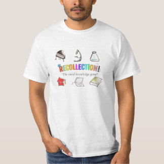 Recollection board game men's t-shirt