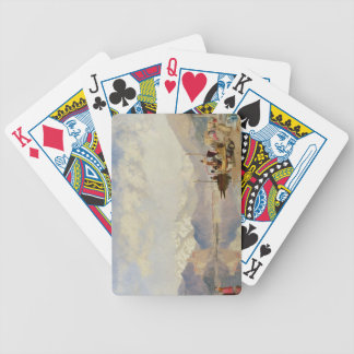 Recollections of the Lago Maggiore, Market Day at Bicycle Playing Cards
