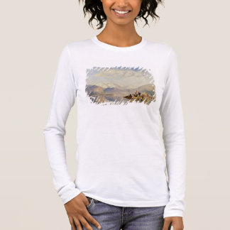 Recollections of the Lago Maggiore, Market Day at Long Sleeve T-Shirt