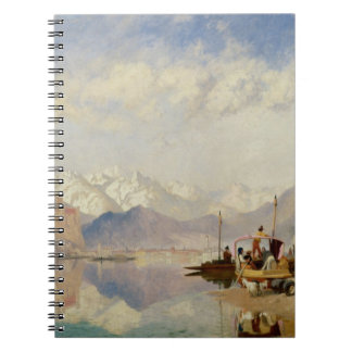 Recollections of the Lago Maggiore, Market Day at Spiral Notebook