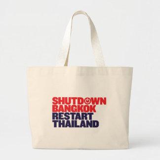Recomienzo Tailandia de Bangkok de la parada Bolsa
