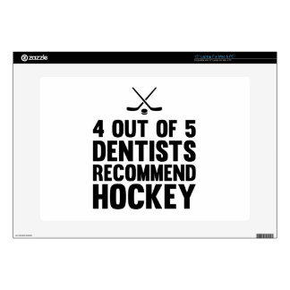 """Recommend Hockey 15"""" Laptop Skin"""