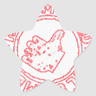 Recommended - Recomendado Star Sticker