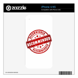 Recommended iPhone 4S Skin