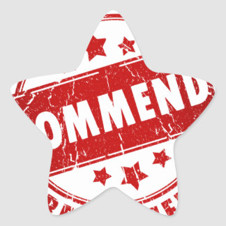 Recommended Star Sticker
