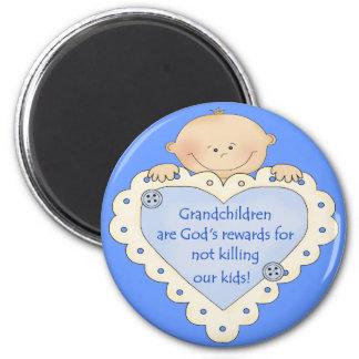 Recompensas de los Grandkids Iman De Frigorífico