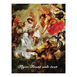 Reconciliación de Louis y de Maria de Rubens Peter Tarjetones