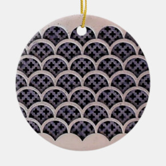 Reconciliation Double-Sided Ceramic Round Christmas Ornament