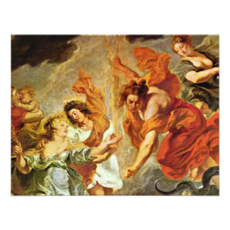 Reconciliation Of Louis And Mary Detail By Rubens Custom Invitations