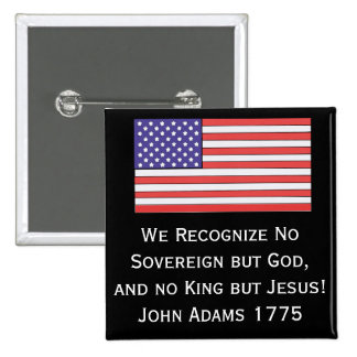 Reconocemos no soberano pero dios, y a ningún rey  pin