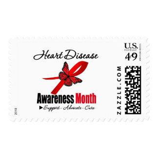 Reconocimiento del mes de la conciencia de la sello postal