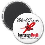 Reconocimiento del mes de la conciencia del cáncer imán