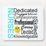 Reconozca a una enfermera:  Collage del reconocimi Tapetes De Raton