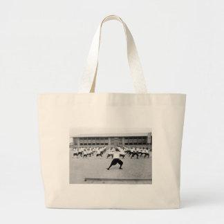 Reconstrucción al aire libre: 1917 bolsa de mano