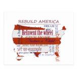 Reconstrucción América Tarjeta Postal