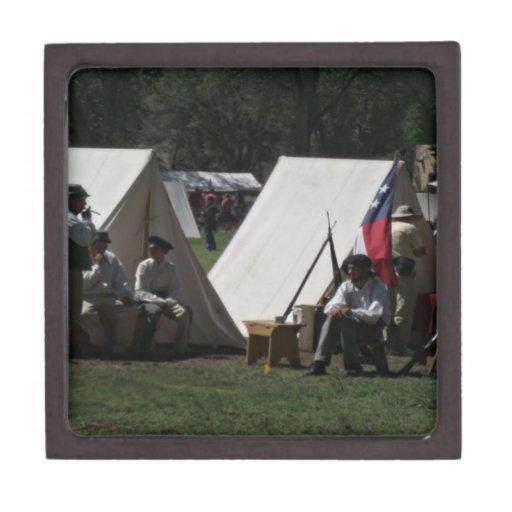 Reconstrucción de Stanton New México del fuerte Cajas De Joyas De Calidad