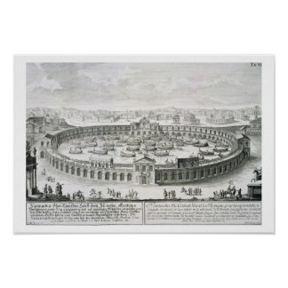 Reconstrucción de una batalla naval romana, de 'En Poster