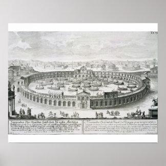 Reconstrucción de una batalla naval romana, de 'En Impresiones