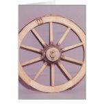 Reconstrucción de una rueda tarjeta de felicitación