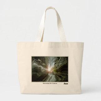 Reconstrucción del cosmos bolsa tela grande