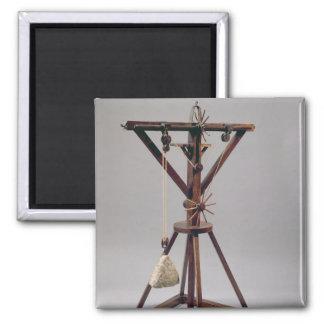 Reconstrucción del diseño de da Vinci Iman