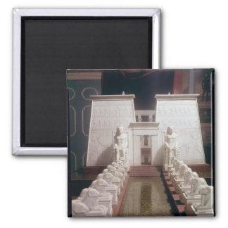 Reconstrucción del gran templo del Amon, Imán Cuadrado