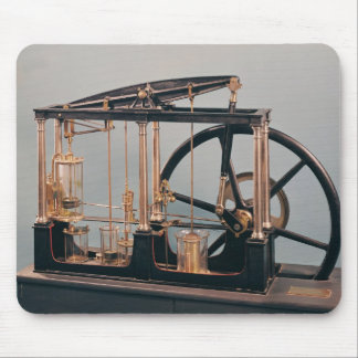 Reconstrucción del motor del vapor de James Watt Alfombrillas De Ratones