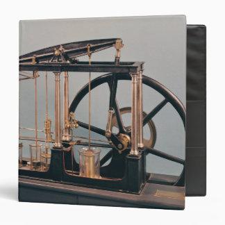 """Reconstrucción del motor del vapor de James Watt Carpeta 1 1/2"""""""