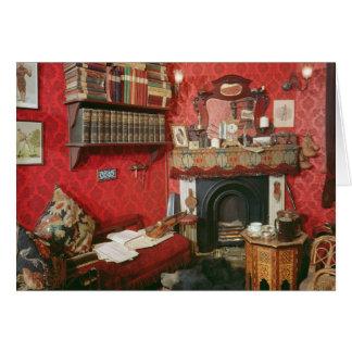 Reconstrucción del sitio de Sherlock Holmes Tarjetas