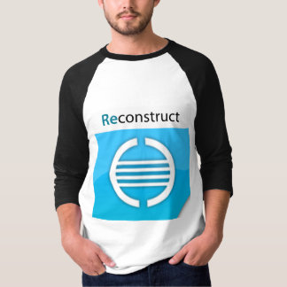Reconstruct Logo Basic 3/4 Sleeve Raglan T Shirt