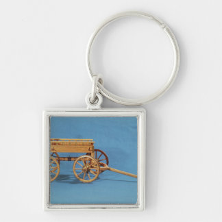 Reconstruction of a chariot found keychain