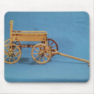 Reconstruction of a chariot found mousepad