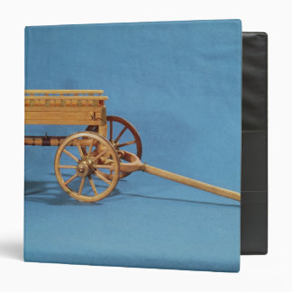 Reconstruction of a chariot found vinyl binder