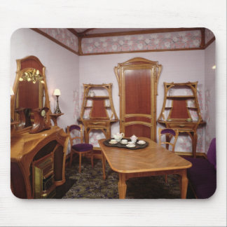 Reconstruction of a salon of the Cafe de Paris Mouse Pad