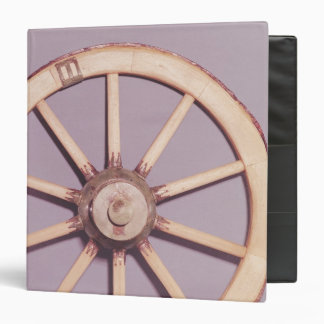 Reconstruction of a wheel 3 ring binder
