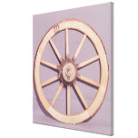 Reconstruction of a wheel canvas print
