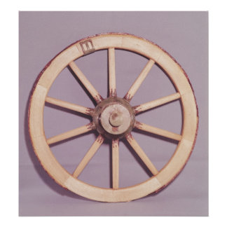 Reconstruction of a wheel poster
