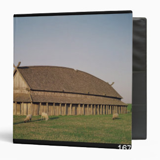 Reconstruction of an 11th century Viking house Binder