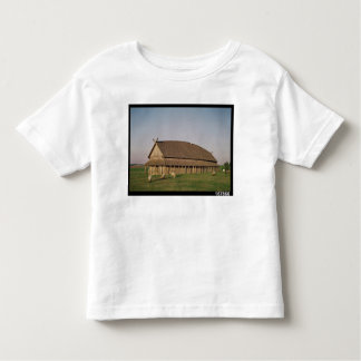 Reconstruction of an 11th century Viking house Toddler T-shirt