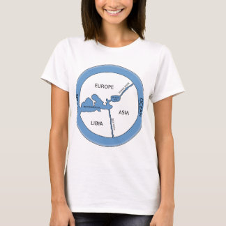 Reconstruction of Anaximander's map T-Shirt