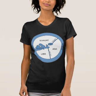 Reconstruction of Anaximander's map Tees